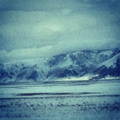 Photo taken at Crowley Lake by Denny N. on 1/7/2013