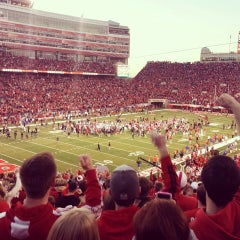 Photo taken at Memorial Stadium by David C. on 11/3/2013