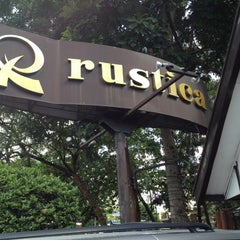 Photo taken at Rustica Restaurant by Carlo 1. on 12/9/2012