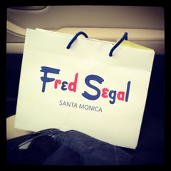 Photo taken at Fred Segal by Robert F. on 12/15/2012
