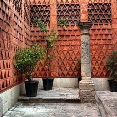Photo taken at Museo Textil De Oaxaca by Roxi R. on 4/20/2013