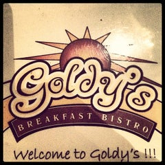 Photo taken at Goldy's Breakfast Bistro by Dustin O. on 10/6/2012