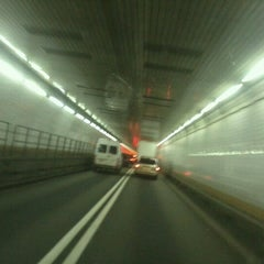 Photo taken at Holland Tunnel by Barton G. on 6/21/2013