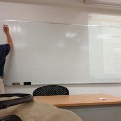 Photo taken at Departamento de Letras, Humanidades e Historia del Arte by Ana L. on 10/10/2012
