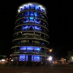 Photo taken at Menara Condong (Leaning Tower) by Joe A. on 11/8/2012