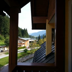 Photo taken at Sporthotel Dachstein West Annaberg-Lungotz by balee13 on 8/23/2013