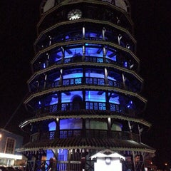 Photo taken at Menara Condong (Leaning Tower) by Chew Y. on 6/20/2013