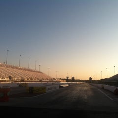 Photo taken at zMax Dragway by Lauri G. on 10/13/2012