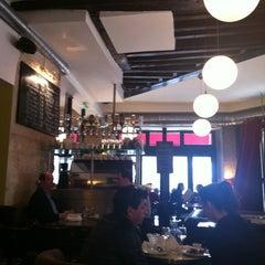 Photo taken at Le Café du Temple by Candy L. on 4/4/2013