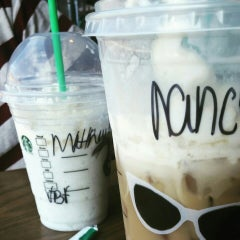 Photo taken at Starbucks by nancy s. on 8/21/2015
