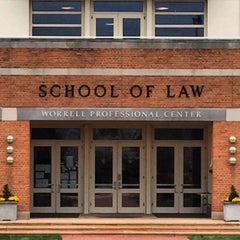 Photo taken at Wake Forest School of Law by Lisa S. on 4/7/2015