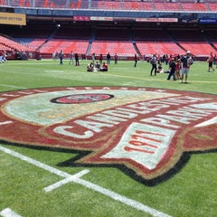 Photo taken at Candlestick Park by Ivy C. on 7/21/2013