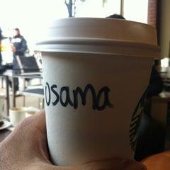 Photo taken at Starbucks by Osamah A. on 3/18/2013