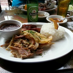Photo taken at El Meson de Pepe by Anthony R. on 12/5/2012