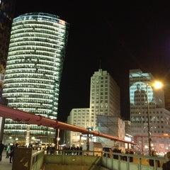 Photo taken at Potsdamer Platz by Pehman M. on 10/18/2012