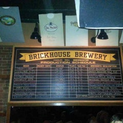Photo taken at BrickHouse Brewery & Restaurant by Onist on 5/11/2013
