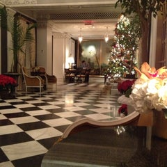 Photo taken at The Jefferson Hotel by Mike S. on 12/5/2012