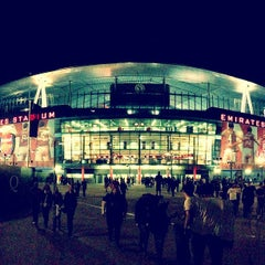 Photo taken at Emirates Stadium by Bruno M. on 5/27/2013
