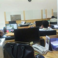 Photo taken at Bank Bukopin by Ochi 🙎 on 12/22/2014
