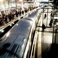 Photo taken at Farringdon London Underground Station by Ingo F. on 12/31/2012