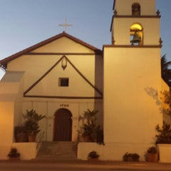 Photo taken at Mission San Buenaventura by David on 5/30/2013