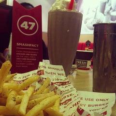 Photo taken at Smashburger by Bridgette J. on 10/17/2012