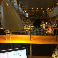 Photo taken at Aarhus Universitet by Aygül T. on 11/25/2014