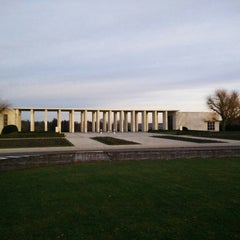 Photo taken at Henri-Chapelle American Cemetery and Memorial by Christophe on 1/1/2015