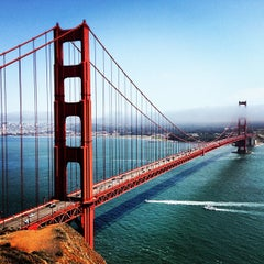 Photo taken at Golden Gate Bridge by Inno O. on 7/2/2013