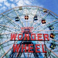 Photo taken at Deno's Wonder Wheel by Ed S. on 8/26/2013