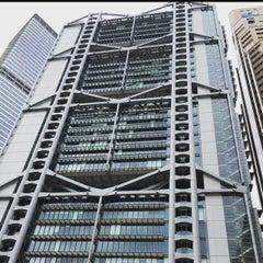 Photo taken at HSBC Hong Kong Office 匯豐銀行香港總行 by Mads C. on 6/28/2015