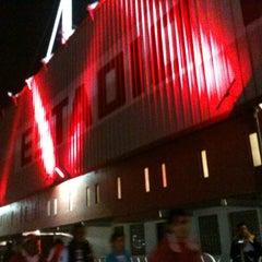 Photo taken at Estadio Nemesio Diez by Arantza C. on 2/20/2013