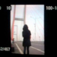 Photo taken at Jembatan Suramadu (Suramadu Bridge) by Yoike H. on 12/29/2012