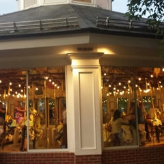 Photo taken at Congress Park Carousel by Shaun W. on 8/3/2013
