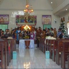 Photo taken at GMIM Imanuel Lowian Langowan by fernando k. on 12/16/2012