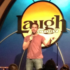 Photo taken at Laugh Factory by Rami H. on 12/15/2012