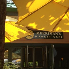 Photo taken at Merriman's Market Cafe by Stephanie T. on 5/29/2013