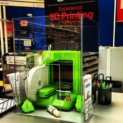 Photo taken at Office Depot by Andrew F. on 1/19/2014