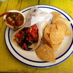 Photo taken at Cancun Taqueria by Andrew N. on 5/11/2013