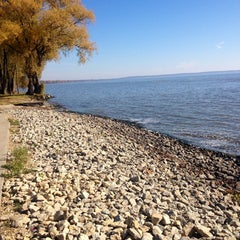 Photo taken at Waverly Beach by Kayla B. on 2/19/2013