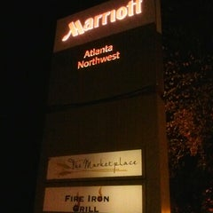 Photo taken at Atlanta Marriott Northwest by DjYard Y. on 11/23/2012