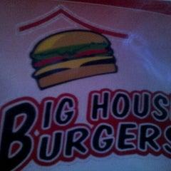 Photo taken at Big House Burgers by John P. on 10/20/2012