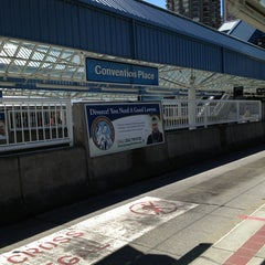 Photo taken at Convention Place Station by Bradley A. E. on 5/24/2013