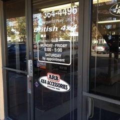 Photo taken at British 4x4 by Bridget W. on 11/14/2013