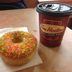 Photo taken at Tim Hortons by Jeff A. on 4/20/2013