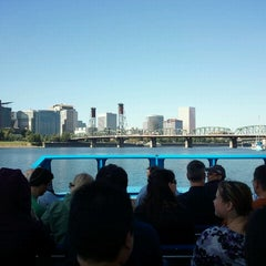 Photo taken at Willamette Jet Boat Tours by Jane P. on 9/26/2012