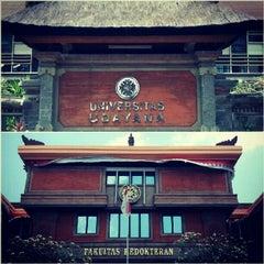 Photo taken at Padmasana Fakultas Kedokteran Universitas Udayana by Rudy Z. on 9/14/2012