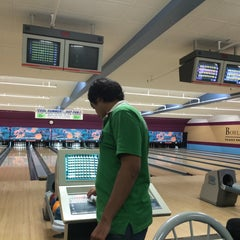 Photo taken at Bowl-A-Roll Lanes by Abdul on 6/21/2014