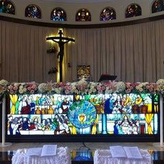 Photo taken at Gereja Santa Theresia by Aditya A. on 7/13/2013