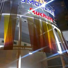 Photo taken at Auchan by Rachel O. on 1/15/2013